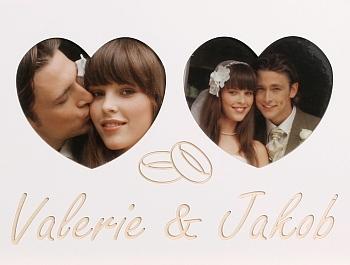 Hochzeit 2 Herzen