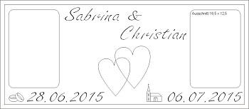 Standesamt und Kirche oder Herzen