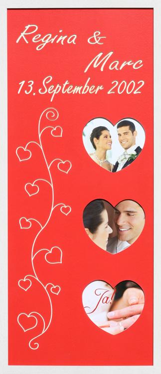 Hochzeit Herzen Lang