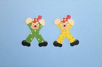 Clownbuchstabe X