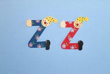 Clownbuchstabe Z