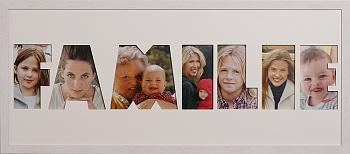 FAMILIE bis 7 Buchstaben-Höhe ca. 11 cm
