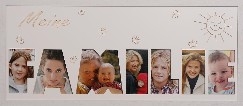 Familie mit Sonne und Schmetterlinge 11cm
