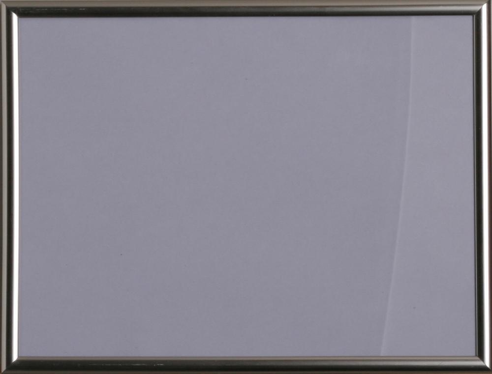Kunststoff-Wechselrahmen 18x24 cm Silber