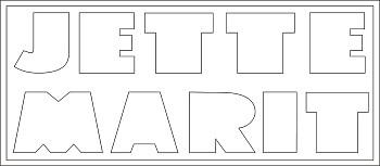 2 Zeilen Namen Buchstaben-Höhe ca. 9 cm