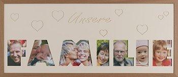 Familie, Eltern & Großeltern 60x25 cm