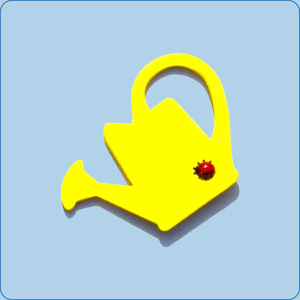 Gießkanne gelb