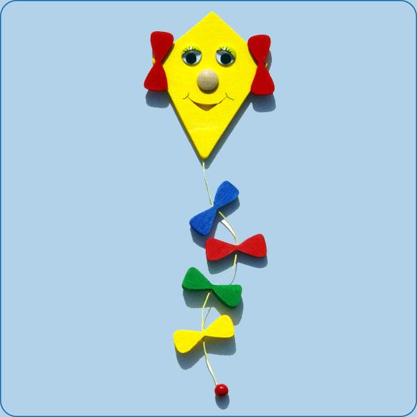 Windvogel (Drachen) gelb