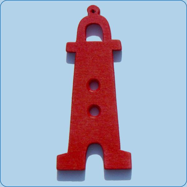 Leuchturm-rot