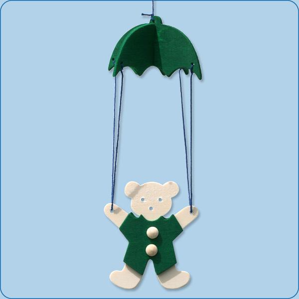 Teddy mit Fallschirm