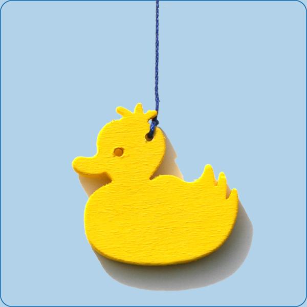 Ente groß-gelb
