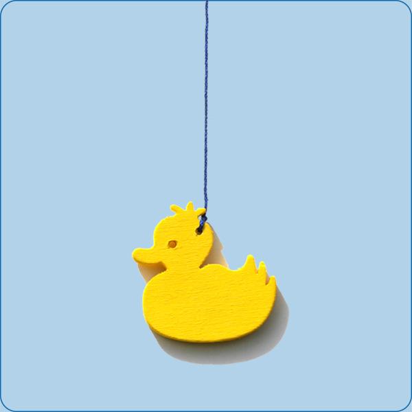 Ente klein-gelb
