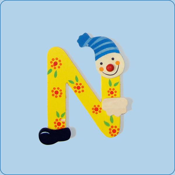 Clownbuchstaben