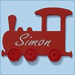 Eisenbahn-(Bilderrahmen)