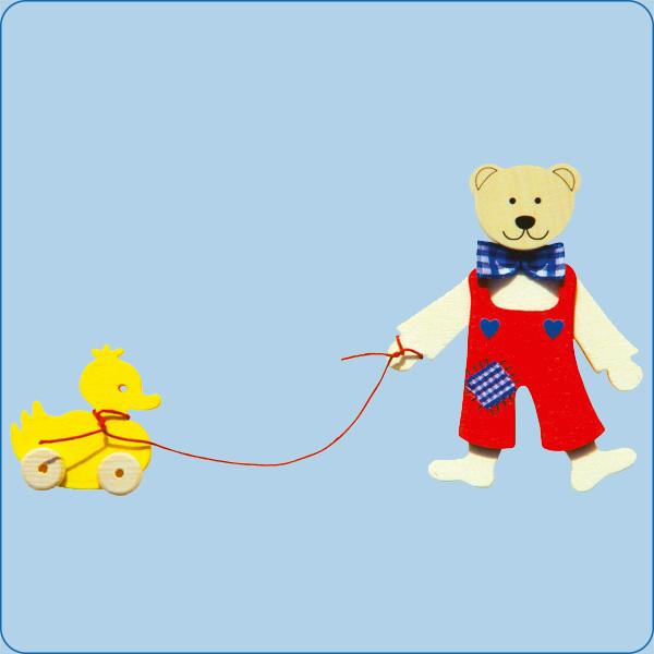 Teddy mit Ente