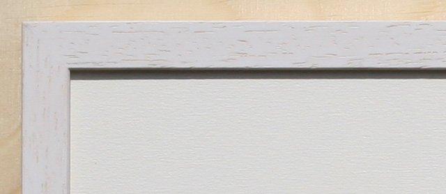 Holz-Rahmen Weiß lasiert