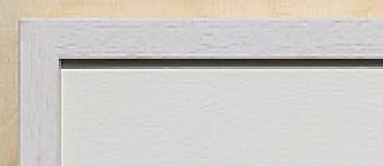 Holz-Rahmen klein Weiß lasiert 18 cm x 24 cm