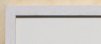 Holz-Rahmen Weiß lasiert 60 cm x 25 cm