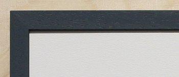 Holz-Rahmen Anthrazit lackiert 60 cm x 25 cm.