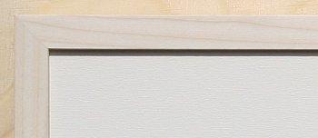 Holz-Rahmen Aspe natur 60 cm x 25 cm.