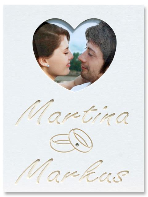 Mein Foto Bild klein Hochzeit mit Ringe